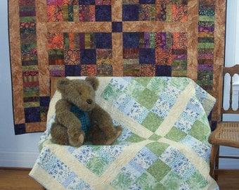 Moose Crossing Quilt Pattern