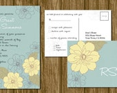 Printable Wedding Invitation and RSVP