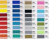 8 - 12x12 sheets of oracal 631 vinyl   NEW COLORS LISTED