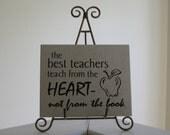 Teaching from the Heart vinyl