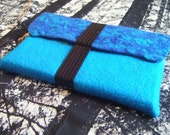 Blue Felt Laptop Sleeve 13 inch .......fits macbook and other 13 inch models