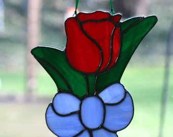 Stained Glass Tulip