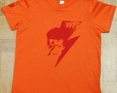 Bowie Rock T-Shirt (Kids) Orange (Sizes 4, 8, 12)