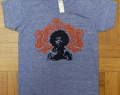 Hendrix Rock T Shirt (Kids) Athletic Blue (Sizes 6, 10)