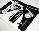 The Ramones Screenprint 13 x 19 Amplified Art