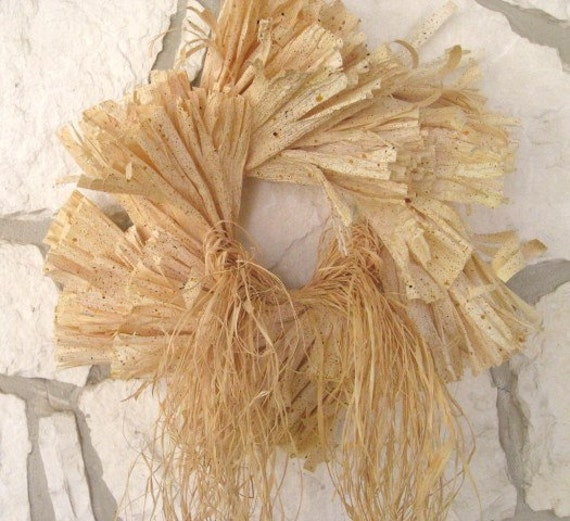 Cornhusk Wreath, Fall Wreath, Rustic Home Wreath, Thanksgiving Wreath, Fall Decoration for Front Door