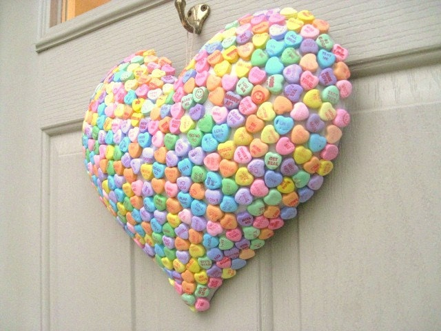 Valentine Decoration Candy Hearts Puffy Heart Valentines Day