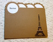 Recipe Cards & Dividers - Vintage Inspired - Parisian Kitchen