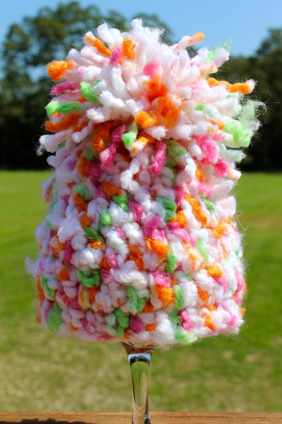 Pom Pom Hat - Newborn - Multi Color - Photo Prop