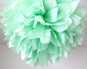 mint ... 1 Pom // Easter // Spring // Wedding // Party //