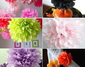 Color Samples - Tissue Paper Pom Poms