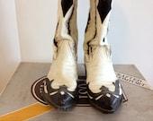 Vintage Dan Post Tony Lama Edition Men's Cowboy Boots Sz 8