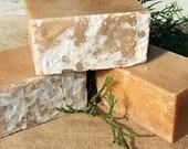 2 Bars Goat Milk Juniper Berry Lavender Rosemary Natural Honey Soap Men Women UK seller