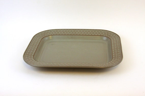Stoneware Rectangular Serving Plate by Independence Japan