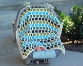 Infant Car Seat Cover    Baby Blanket   Could be custom-made  (Goosey Goosey Gander)  boy car seat cover