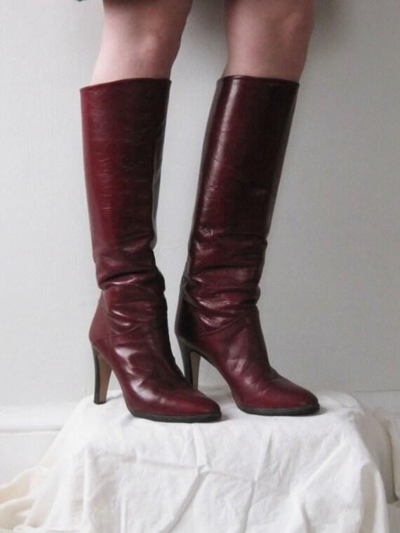1970s CORDOVAN Boots