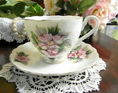 Royal Sealy  Bone China Teacup Tea Cup and Saucer Made in Japan 5854