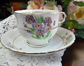 Phoenix Bone China T F and S Ltd Tea Cup and Saucer Set  7162