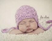 baby hat crochet pattern - crochet patterns- hat crochet pattern - baby girl hat pattern - photography prop pattern