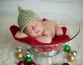 Free KNITTING PATTERN- Pointy Knit hat pattern - baby boy hats - knitted photo prop patterns