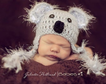 Koala bear- MADE TO ORDER- Newborn size - 4t