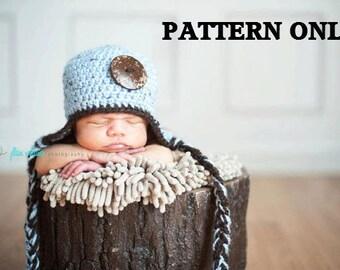 crochet hat pattern, hat crochet patterns, beanie crochet patterns, crochet pattern, earflap hat crochet pattern, photo prop patterns, baby