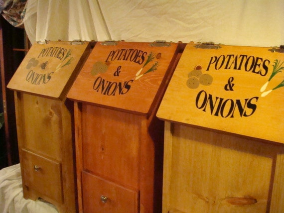 Custom made Potato and Onion Bin