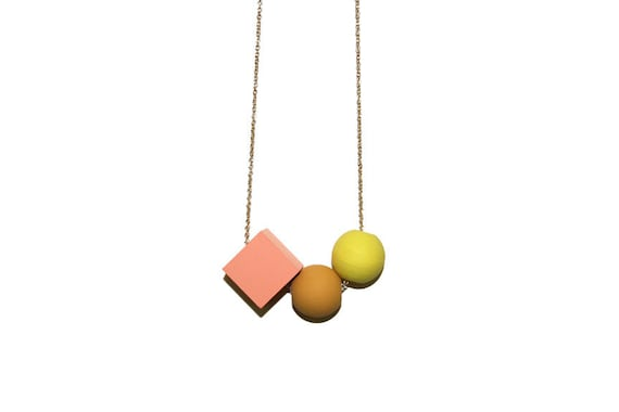birds & the bees necklace