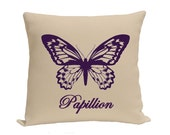Decorative pillow - Pillow - Throw pillow - Accent pillow - Decorative throw pillow - Bird cage pillow - pillow cover - Purple taupe