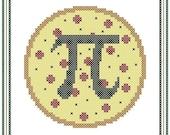 Pizza Pi Cross Stitch Chart