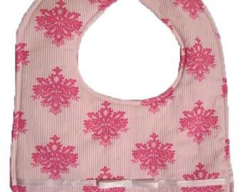 Pretty in Pink Bib