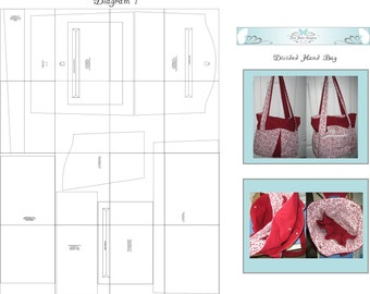 The Divided Hand Bag Pattern
