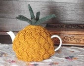 Hand knitted pineapple tea cozy cosy