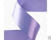 3/8 x 100 yds SINGLE FACE Satin Ribbon - Iris/Periwinkle