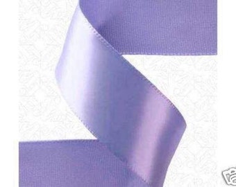 7/8 x 100 yds SINGLE FACE Satin Ribbon - Periwinkle