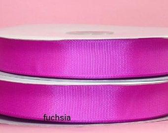 1 1/2 inch x 50 yds Grosgrain Ribbon -- FUCHSIA
