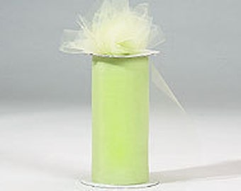 6 inch x 75 ft Nylon Tulle Roll --MINT
