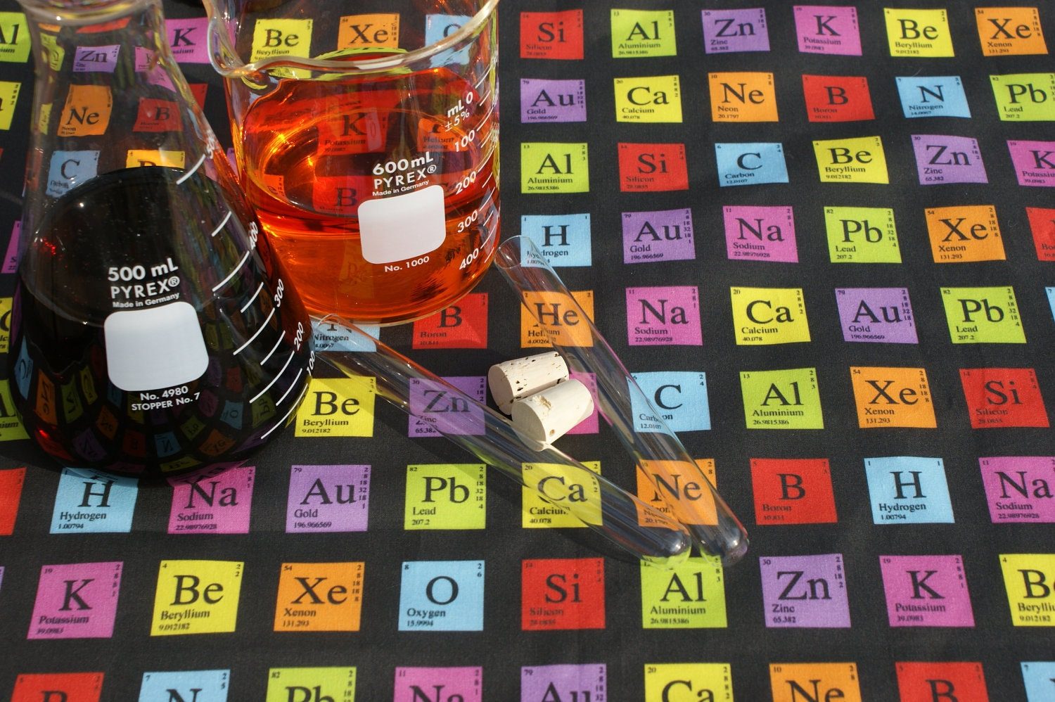 custom periodic table - Periodic Table Fabric