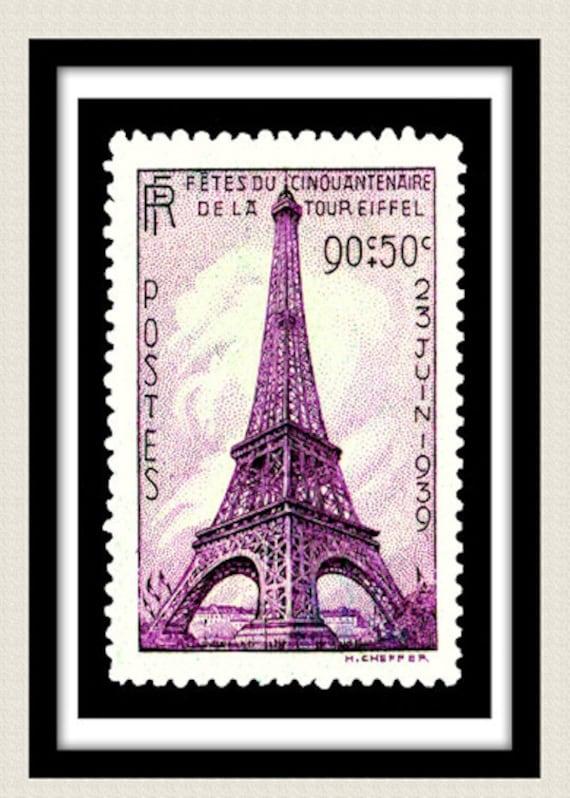 Small Vintage postage stamp