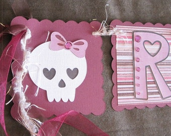 Rock Princess Banner with RHINESTONES Ready to Ship Monster High