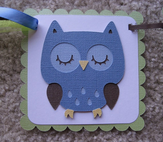 "WOODLAND OWL ""it's a boy"" Baby Shower Banner Made to Order"