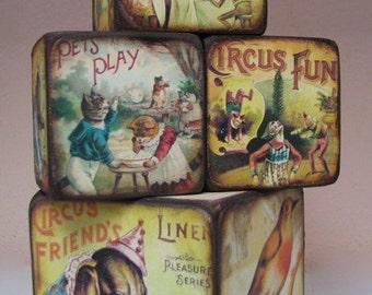 Vintage Children's Blocks