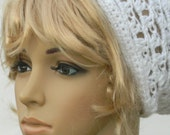 Headband Hairtube Hairsock Headwrap In white