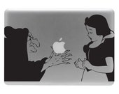 Snow White and the Witch - Vinyl Decal Sticker for the Macbook