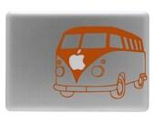 VW Bus - Vinyl Decal Sticker for Macbook