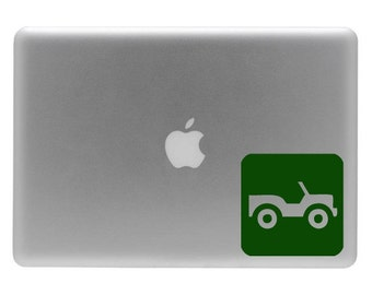 Jeep - Vinyl Decal Sticker for your Macbook or Laptop