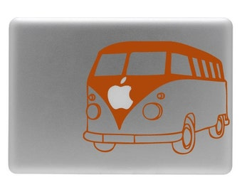 VW Bus - Vinyl Decal Sticker for Macbook