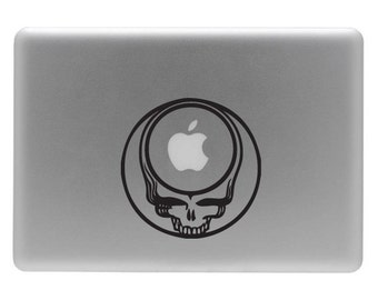 Greatful Dead - Vinyl Decal Sticker for your Macbook