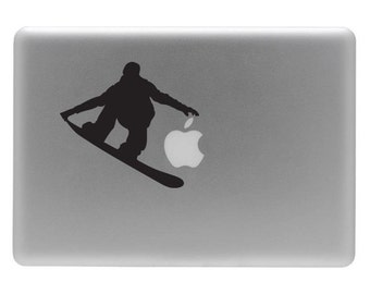 Snow Board - Vinyl Decal Sticker for your Macbook or Laptop