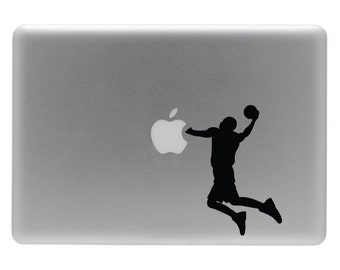 Basketball - Vinyl Decal Sticker for the Macbook or Laptop